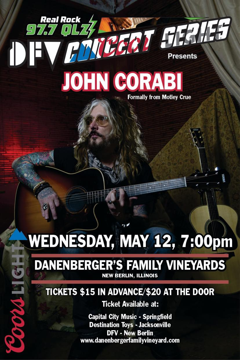 Product Image for John Corabi Concert Ticket
