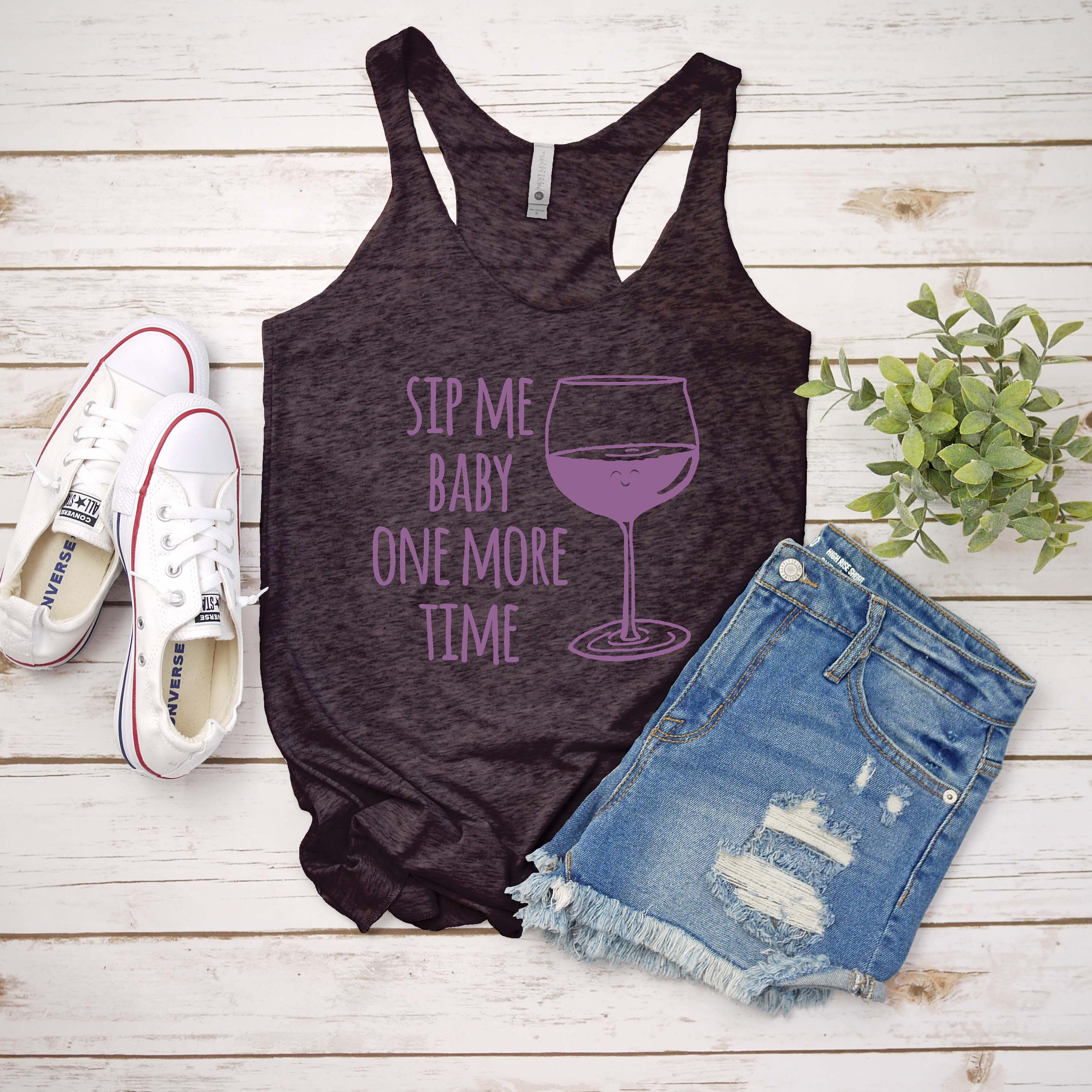 Product Image for Sip Me Baby One More Time - Ladies Tank Top